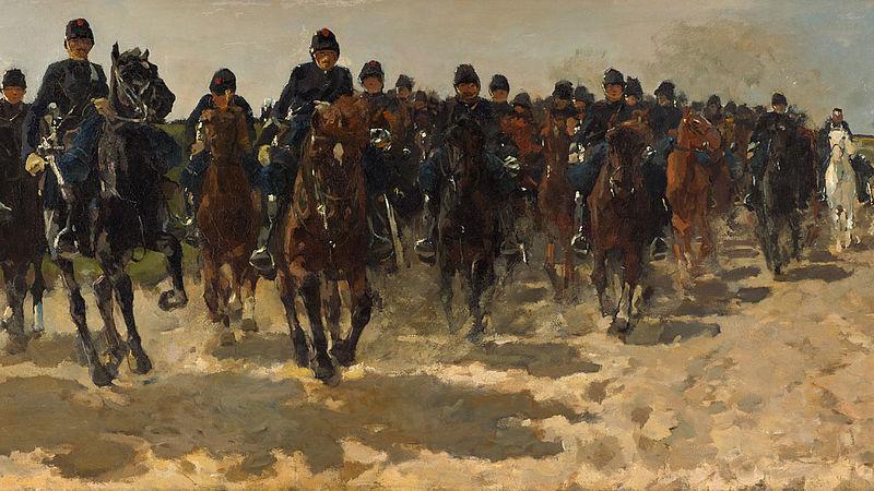 George Hendrik Breinter, Cavalelire, 1883-1888, Kunstmuseum Den Haag
