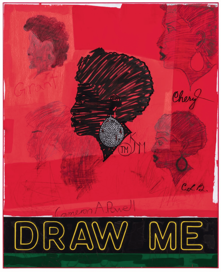 Kerry James Marshall, Draw Me, 2012, Lot 9 est. £1.5-2.5m