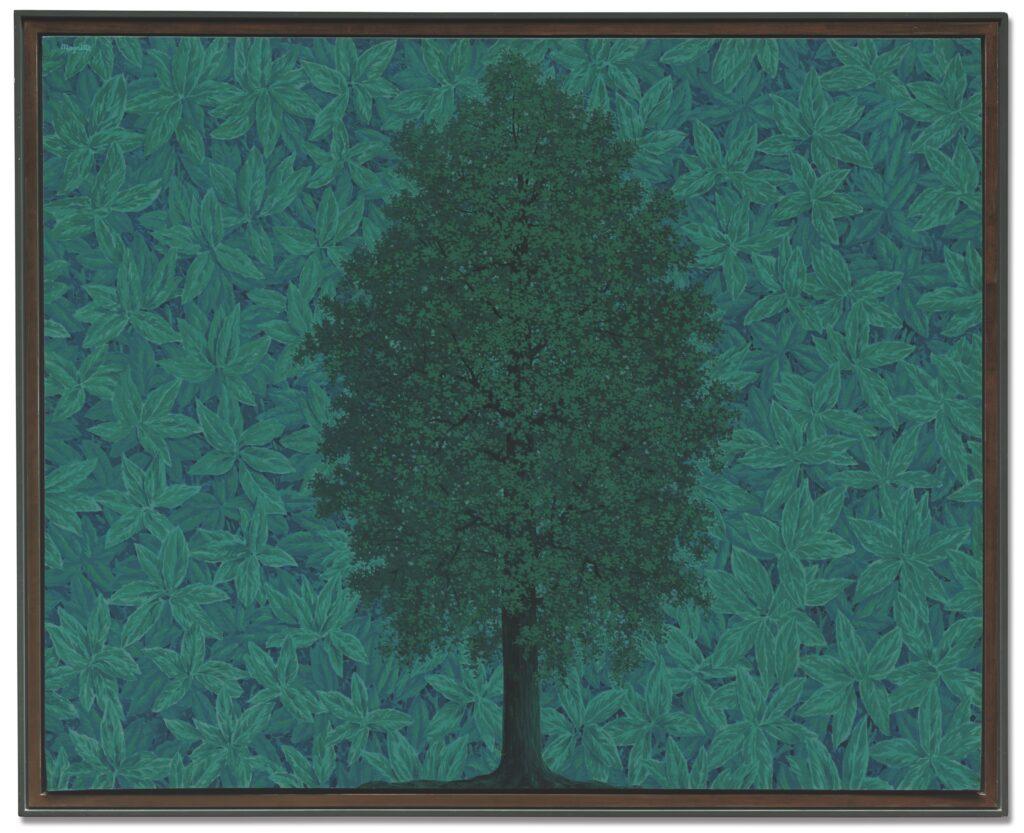 René Magritte, L' Arc de Triomphe, 1962, 130,6x  162 cm, courtesy Christie's Londen, lot verkocht voor £17.798.750